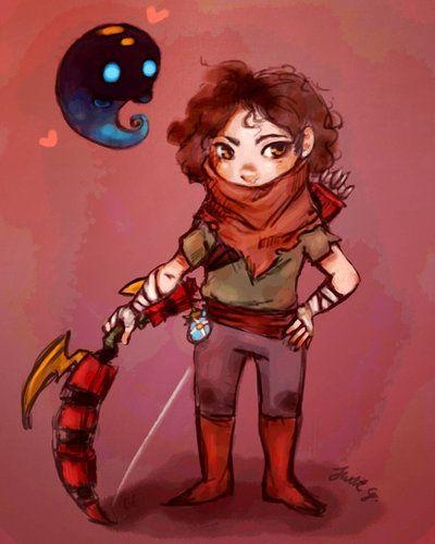 Bastion - Little Archer by JuditG