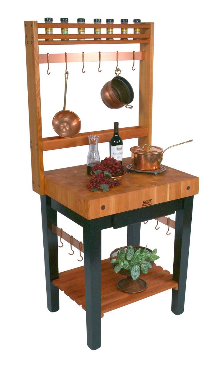 $1,258 Cherry Pro Prep Butcher Block Kitchen Island John Boos at www.butcherblockco.com # ...