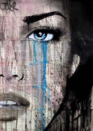 "Saatchi Art Artist LOUI JOVER; Drawing, ""never ever"" #art"