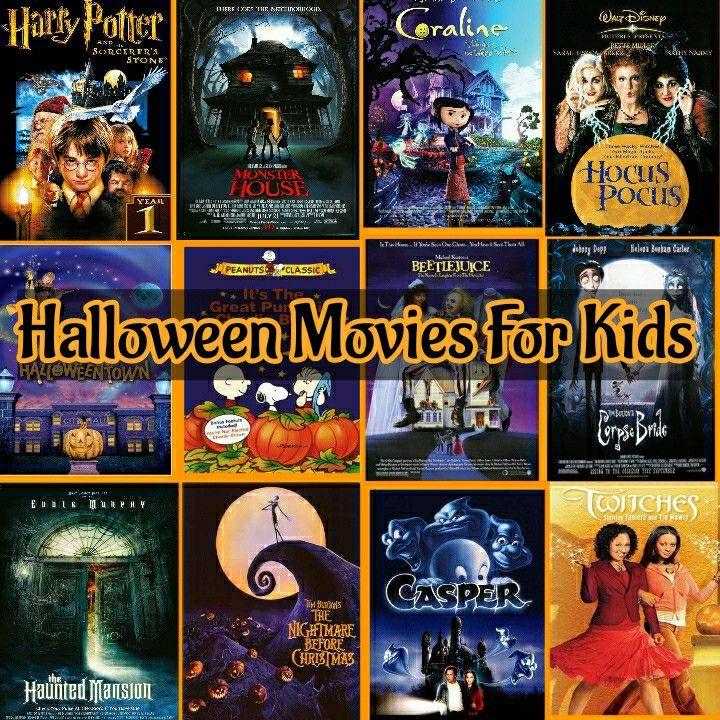 Kid Friendly Halloween Movies in 2020 Kid friendly