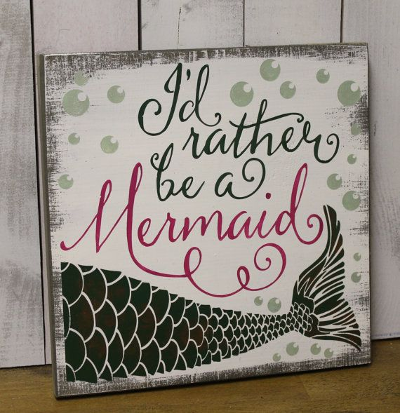 Swimming Pool Plaques Signs Wall Decor: Best 25+ Mermaid Girls Rooms Ideas On Pinterest