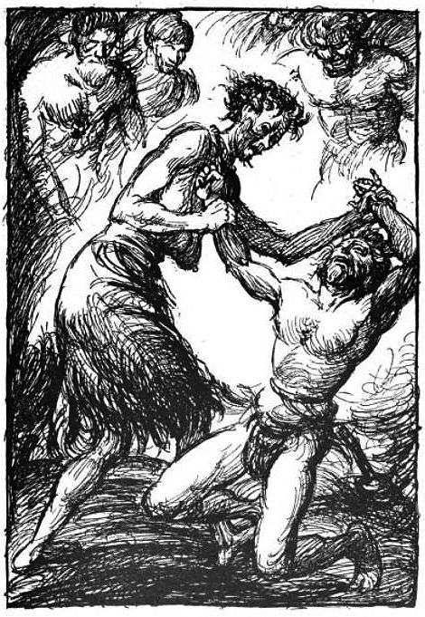 Beowulfian: XXIII. Beowulf Finds Grendel's Mother