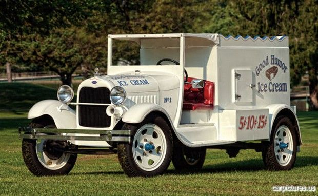 1929 Ford Model AA ¾-Ton Good Humor Ice Cream Truck