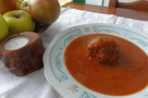 Jak uvařit masové koule v rajské omáčce | recept