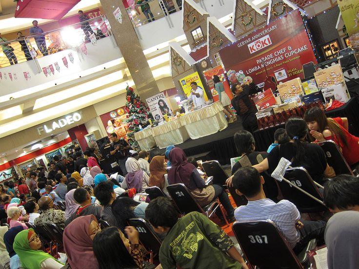 ChefMate chocolate demo with Christmas theme @ royal plaza, Surabaya, Indonesia