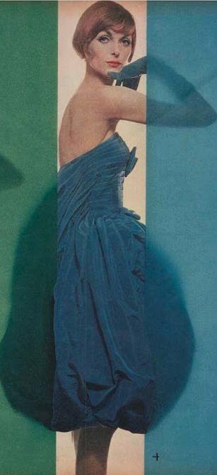 #4- Erwin Blumenfeld (1897-1969), 1958, Vogue US.