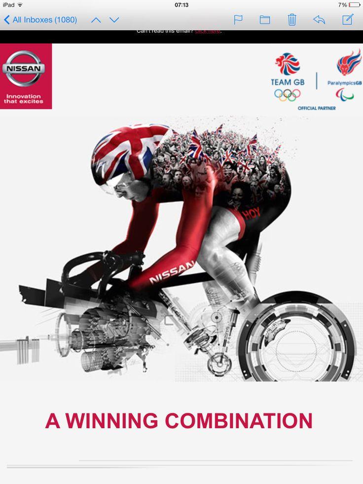 Advert Nissan Sponser Team GB