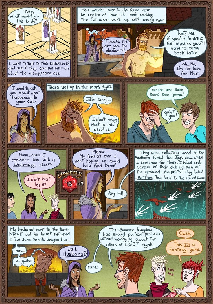 comic Dungeons and strip dragons