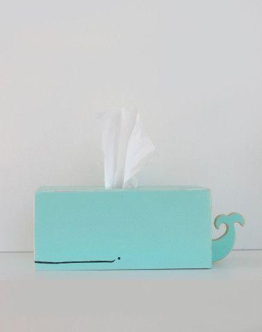 Whale Tissue Holder