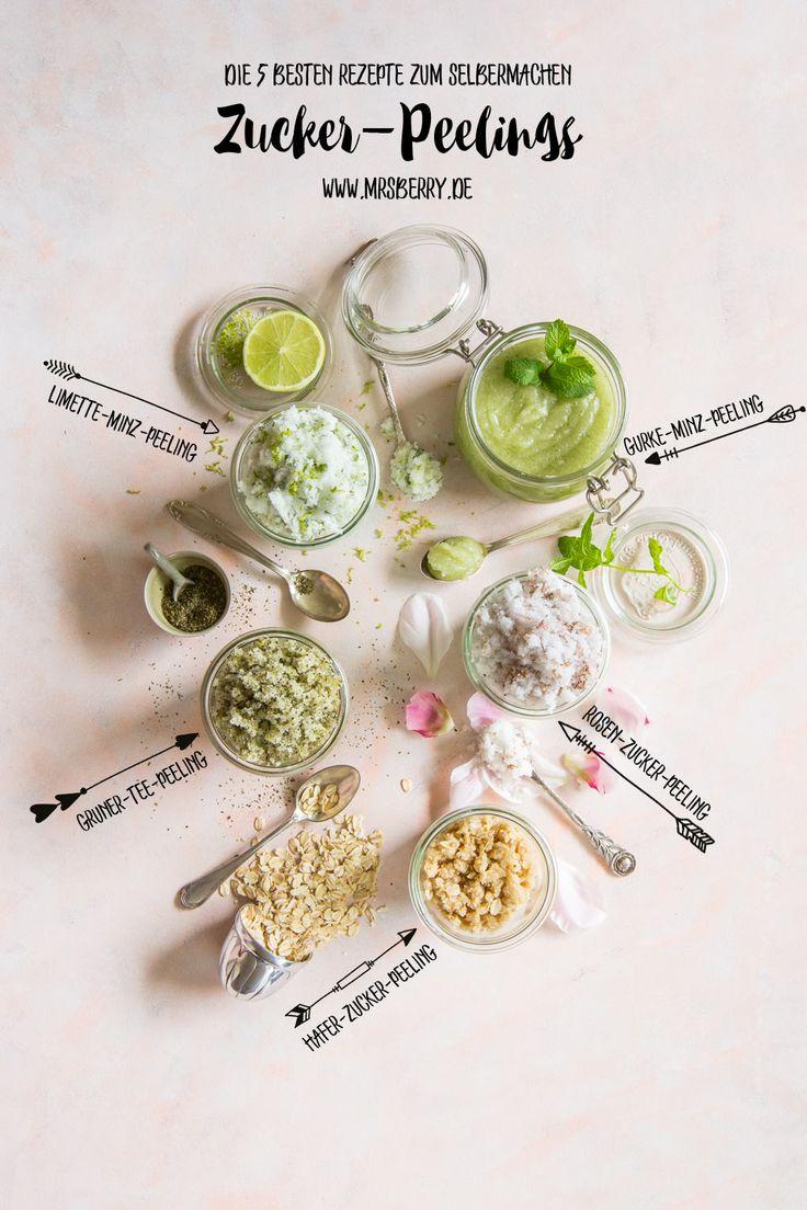Peeling selber machen - die 5 besten Rezept für's Home SPA | Es ist an der Zeit, dass wir uns verwöhnen und zugleich der Umwelt etwas Gutes tun! Mit diesen Zucker-Peelings zaubert ihr euch nicht nur eine wunderbar samtig weiche Haut und bringt eine frische Note in's Home SPA, nein, ihr tut damit auch der Umwelt etwas Gutes, indem ihr auf Mikroplastik aus gekauften Peelings verzichtet. Grandios, oder?