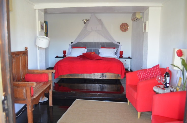 Of logeren in kamer Rojo tijdens de Verwenweek voor vrouwen