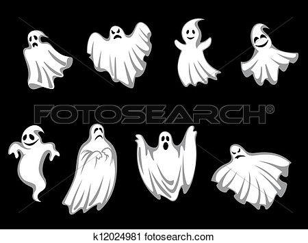 mysterium, halloween, spøkelser Vis stor utklippsgrafikk