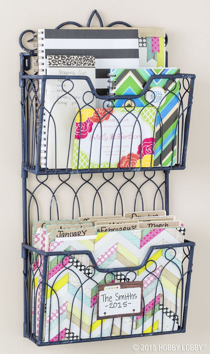 What was once a simple basket is now a multi-purpose storage solution that's stylish too!