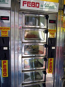 FEBO automatiek is a typical Dutch vending machine. Great place to grab a fast kroket. of een macaronibal, kaas soufle.... *sigh*