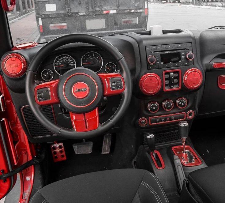 Interior Trim Kit for Jeep Wrangler 2011 2018 JK in 2020