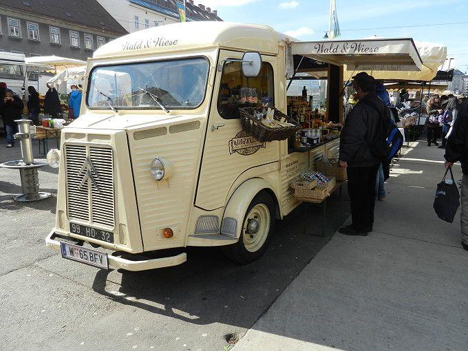 Auf dem Wiener Naschmarkt