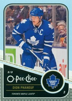2011-12 O-Pee-Chee #293 Dion Phaneuf Front
