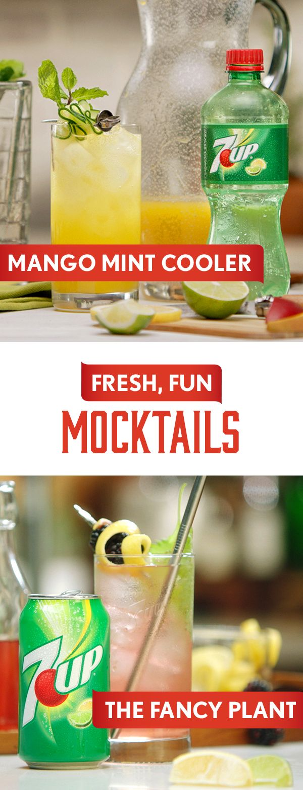 A fresh take on mocktails with 7UP