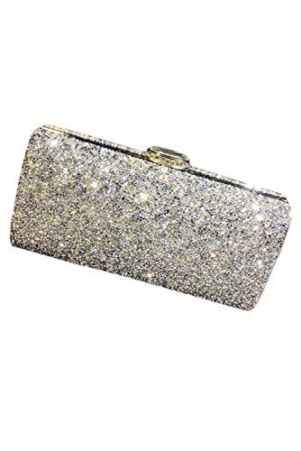 Chic Bride Gorgeous Crystal Diamond Bags Wedding Evening Party Clutch Handbag Purse Designer Pinterest And