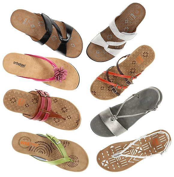 Stylish Summer Shoes For Ladies With Orthotics