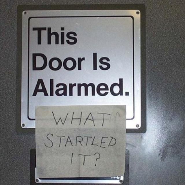 I love smart people....