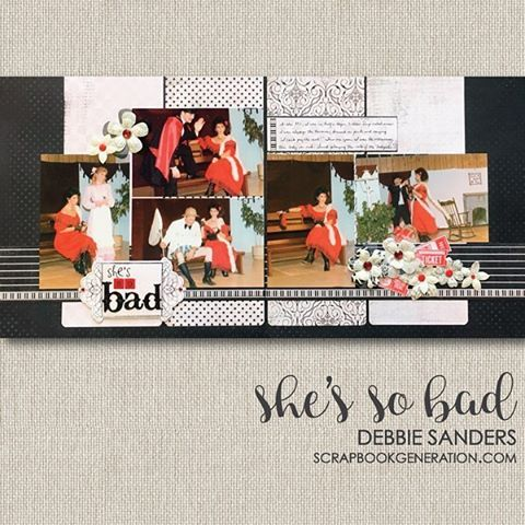 "45 Likes, 1 Comments - Scrapbook Generation (@scrapbook_generation) on Instagram: ""Throwback Thursday. An old layout of some really old photos! #scrapbookgeneration…"""