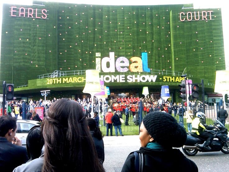 Ideal Home Show Entrance, Earls Court
