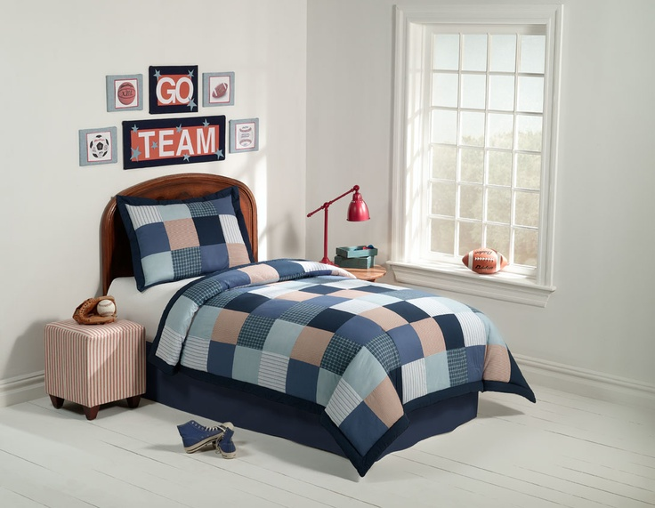 10 Best Boys Sports Bedding Images On Pinterest Boys