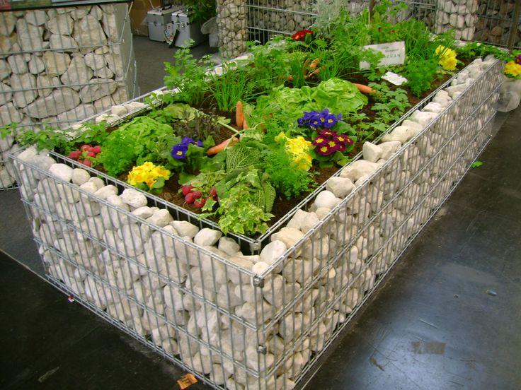 """Design Gartenmobel Stuttgart : Hochbeet Stein auf Pinterest""""  Gabionen hochbeet, Garten hochbeet [R"""