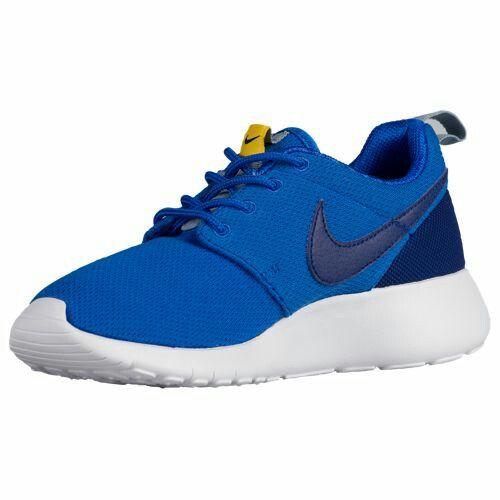 Intelligent Nike Roshe One Boys' Toddler Shoes Deep Royal Blue/Univ Gold/Electro Orange/White
