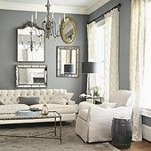 Living Room Ideas: Greys And Whites, Chesterfield Sofas And Chandeliers Part 32