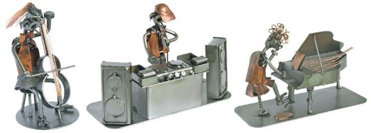 Figurki MUZYKÓW przedstawione z humorem na prezent dla muzyka