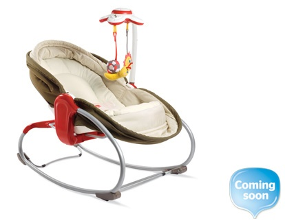 For the next one... 3 in 1 rocker/bouncer/napper/seat from tiny love.
