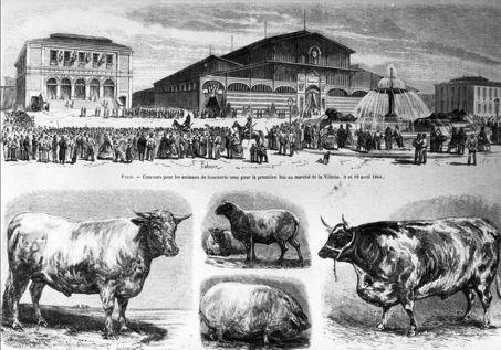 Ancien abattoir de la Villette Paris