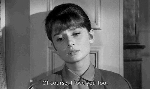 Audrey Hepburn nel Film .Quelle due !!!