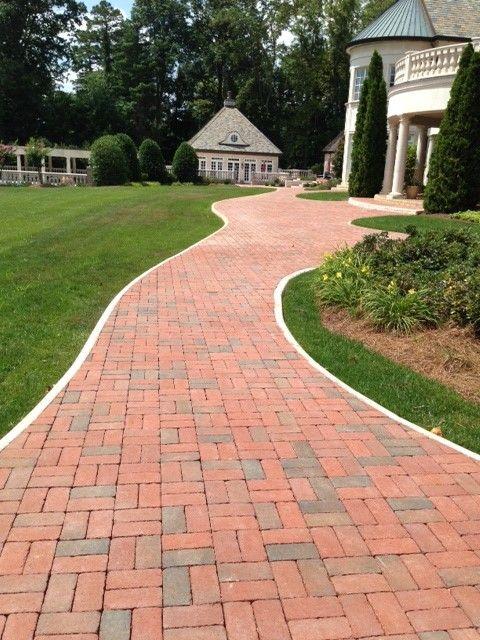 32 best brick paver driveways images on pinterest brick bricks pine hall brick rumbled full range clay paver solutioingenieria Gallery