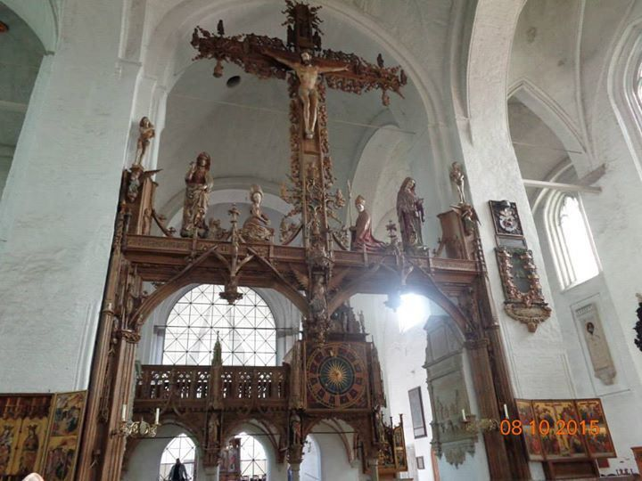 Inside the Cathedral of Lubeck - #summer2015 #travelphoto #travelbloggers
