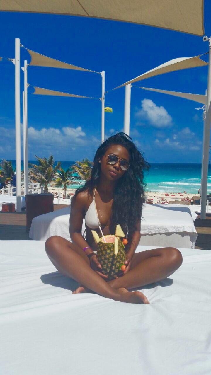 Sexy black darkskin women pics #15
