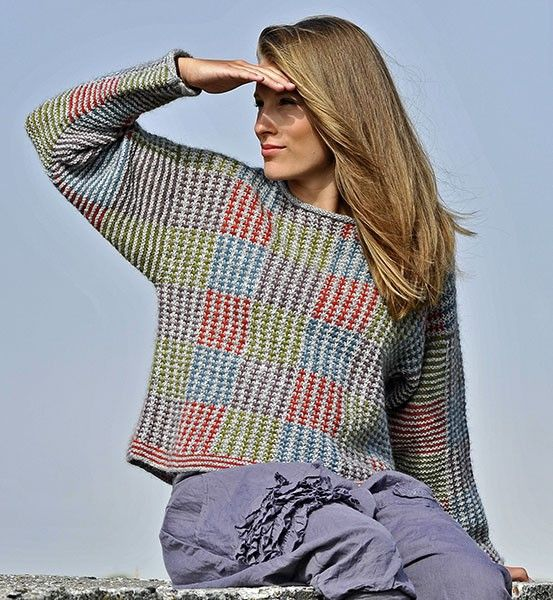 Tweed Sweater dame - Kvinder - Marianne Isager - Designere