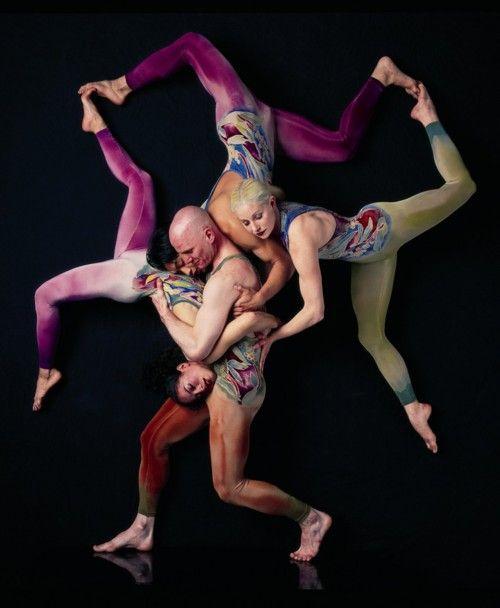 Figuras humanas. Circo. Acro