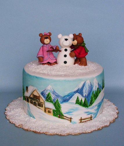 Lovely Winter Cakes