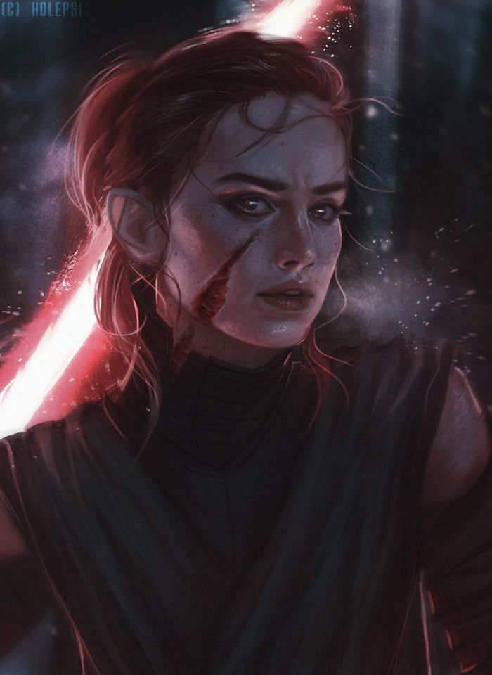 """theboywhocan11:   holepsi: """"The Knight of Rey"""". A... - Star Wars but mainly Kylo Ren and Rey"""
