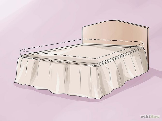 Imagem intitulada Make a Bed Skirt Step 9
