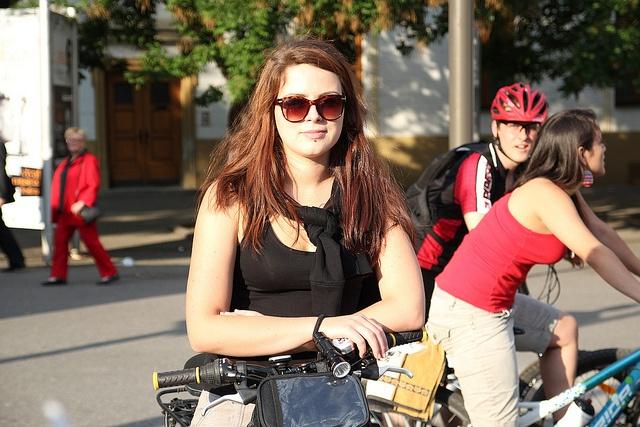 Critical Mass Bratislava by vera kisel, via Flickr