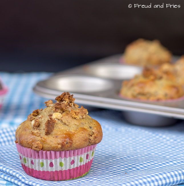 Clean protein bar muffins | Freud and Fries