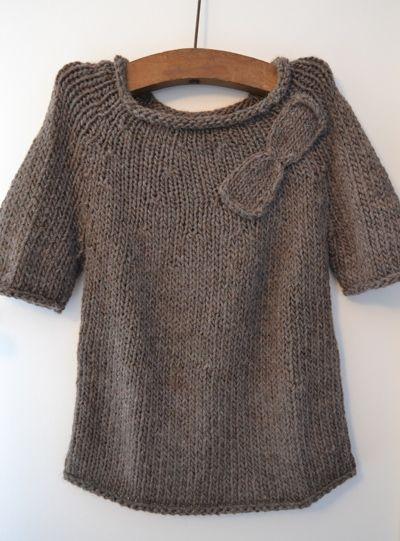 photo tricot modele tricot pull raglan femme 5