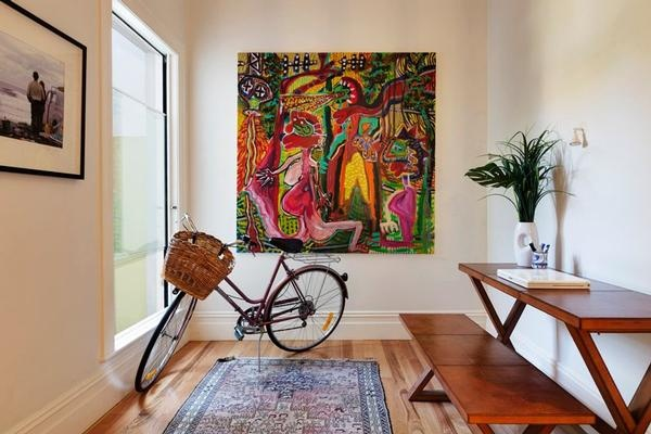 556a Bourke Street #SurryHills #Art #Bike #Interiors