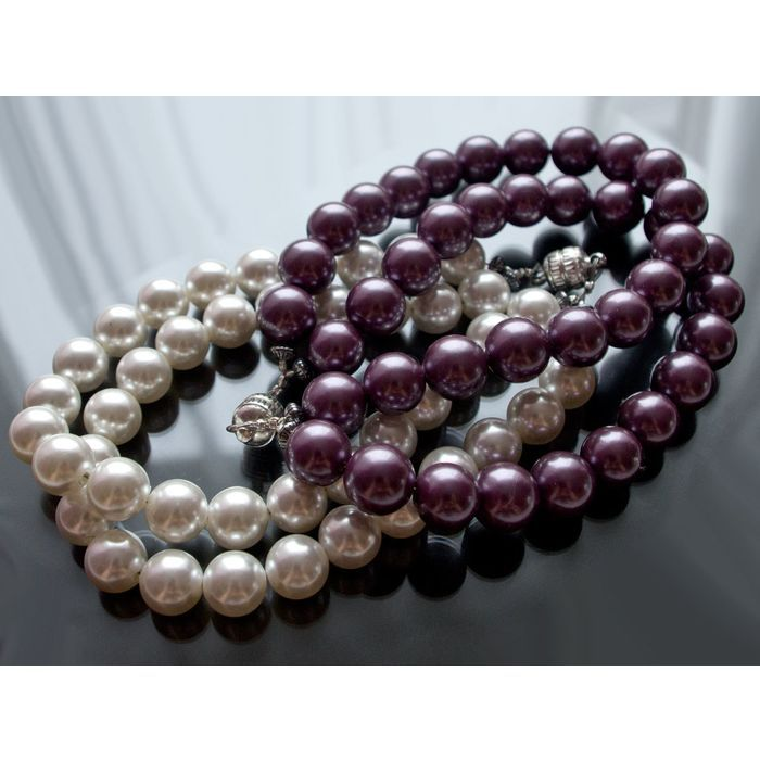 2 Sea shell pearl bracelets or necklace from Transformers Collection