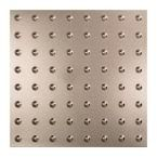 Dome - 2 ft. x 2 ft. Lay-in Ceiling Tile in Brushed Nickel
