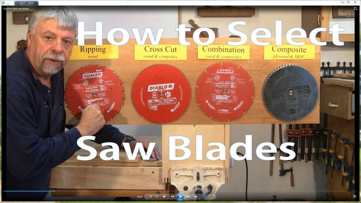 How to Select Table Saw Blades: Woodworking for Beginners #2